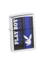 ZIPPO PLAYBOY BLUE RABBIT