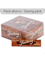PAPEL SMOKING BROWN KS
