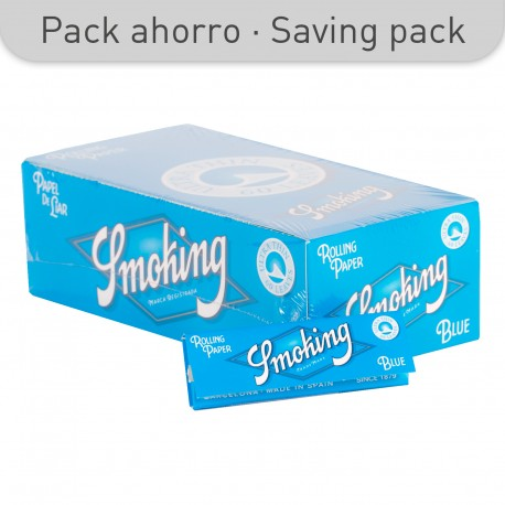 SMOKING BLUE PAPER