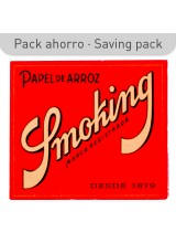 PAPEL SMOKING ARROZ ROJO