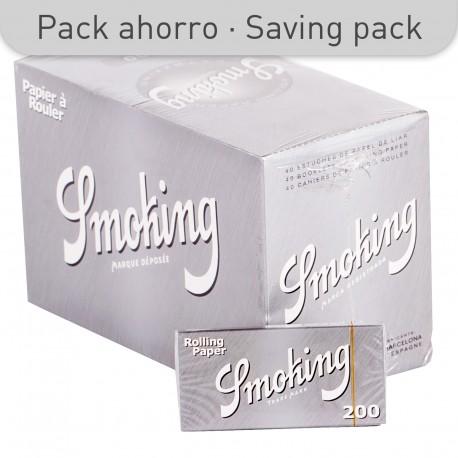 SMOKING SILVER PAPER 200