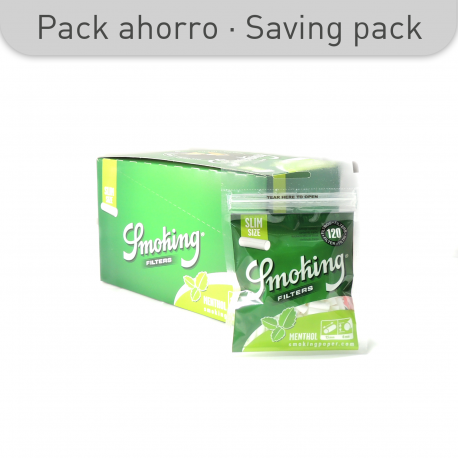 SMOKING MENTHOL FILTERS