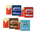 Microfiber Volkswagen cigarette case