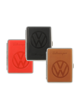 Volkswagen engraved cigarette case