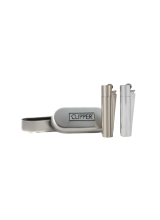 Mechero Clipper Metal plata