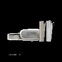 Clipper Metal lighter silver