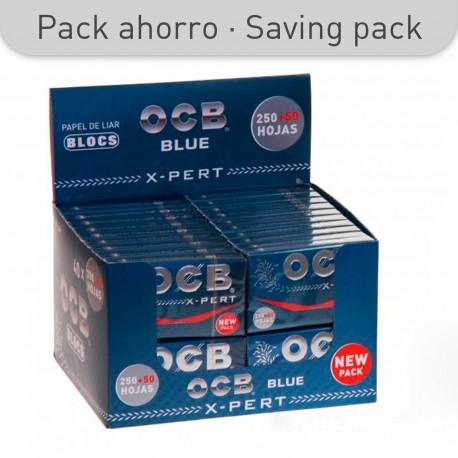 OCB X-PERT BLUE PAPER 250+50