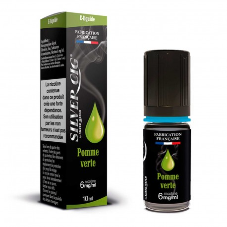E-liquid SilverCig Green Apple