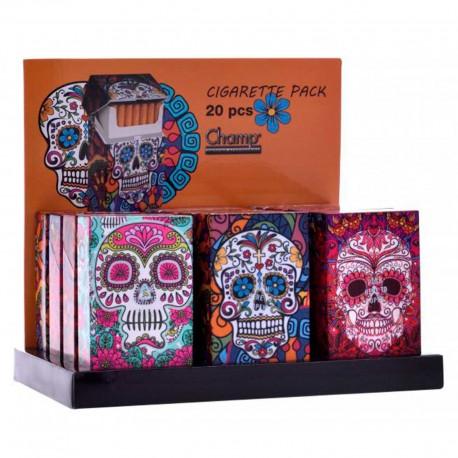 Skulls cigarette case