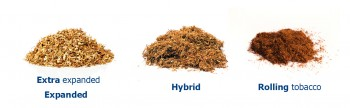 Rolling tobacco types
