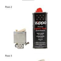 Cómo cargar tu Zippo