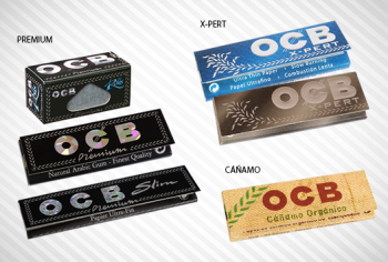Gama de papeles OCB