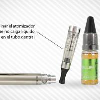 Cigarrillo electrónico y líquido