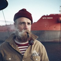 Sailor smoking a pipe