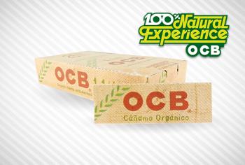 OCB prganic hemp rolling paper