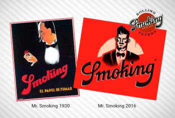 New Mr. Smoking design
