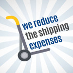Shipping expenses reduced