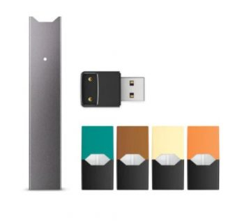 Juul device and pods