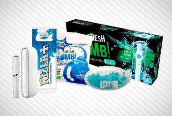 Alternativas al tabaco mentolado